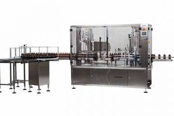 Filling and closing customization is the specialty for Wick Machinery