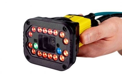 DataMan 370: high speed fixed mount barcode reader with advanced lighting by Cognex