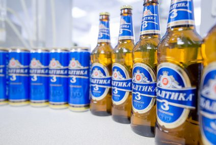 IT logistic solution for Baltika's delivery goods