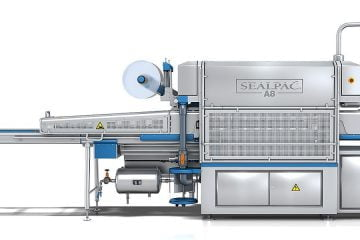 Sealpac A8 traysealer for packaging processes