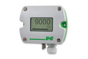 Differential pressure sensor EE600: high accuracy with four measuring ranges
