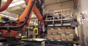 KR Quantec robot