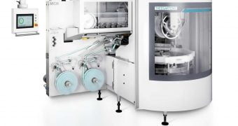 Packaging machine for confectionery production by Theegarten