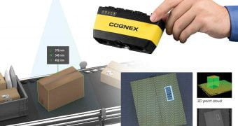 Industrial Smart Camera 3D-A1000 for logistic and packaging