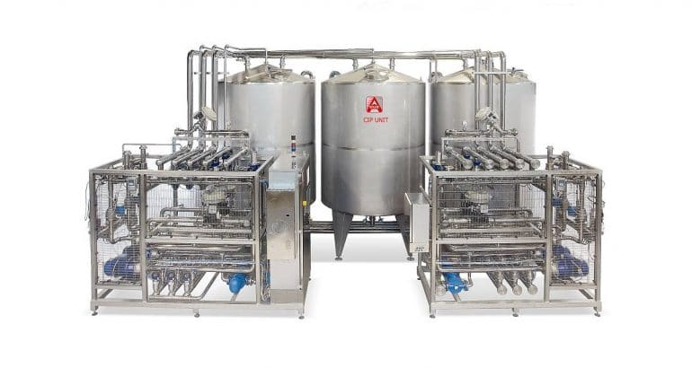 EASY.Clean washing system optimized for CIP washing process