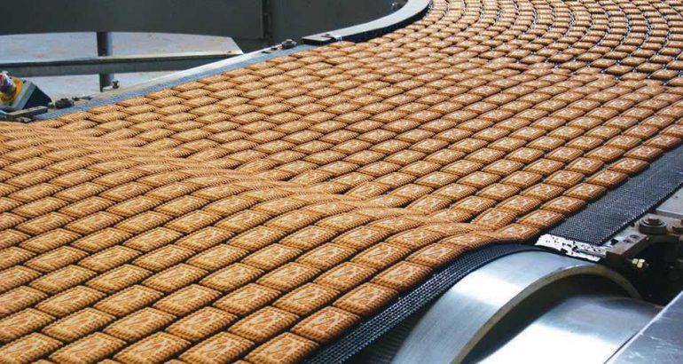 High productivity with the oven lines for cookies, bread, sweet pastries