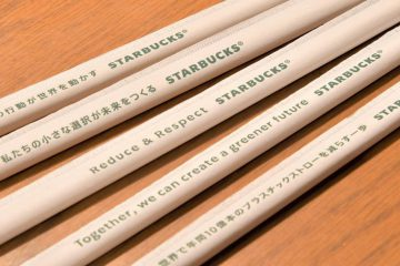 Sustainability: FSC certified paper straws for 1,500 japanese stores