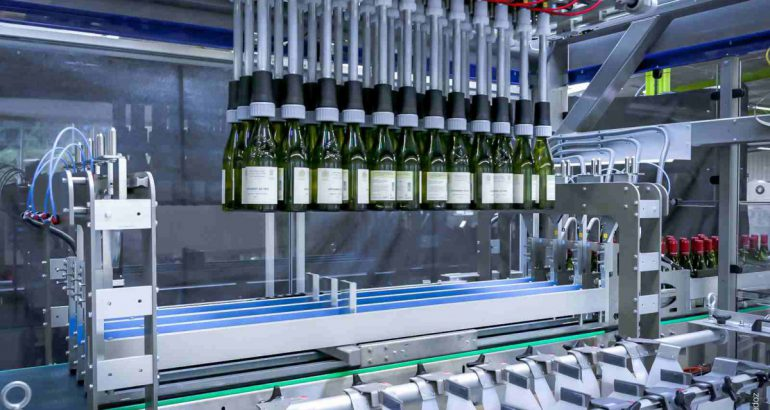 Cermex FlexiPack for packaging glass bottles for wine and spirit industry