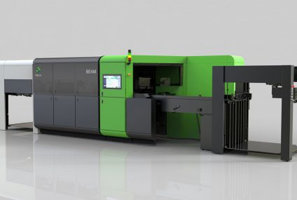 Highcon Beam 2C cutting laser machine for corrugated cardboard