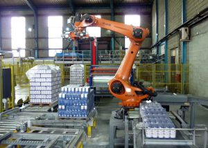 Automation in palletizing operation