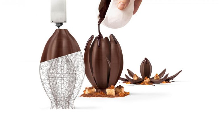 Chocolate experience to live. Do you know the first 3D Printing Studio?