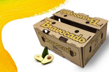 Corrugated packaging solution for fruit transport reducing food waste