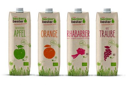 Juice sustainable packaging designed to appeal consumer groups