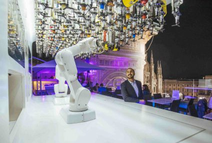 The rooftop bartender robot: mix it Toni!