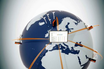 LogTunnel continuous monitoring of machine data from distance