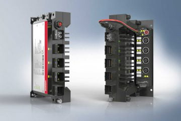Industrial PC ultra compact C7015 for decentralized installations