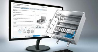 Control cabinet guide online for water treatment plants