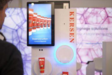 Nexmosphere X-Eye Gender sensor for retailers: digital experiences