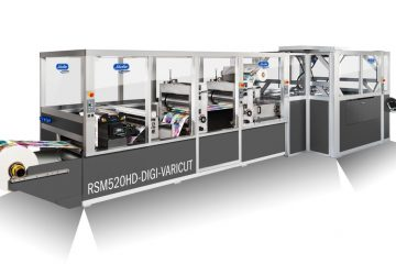 Processing of digitally printed packaging materials and foils
