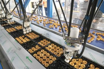 Packaging of vol-au-vent: automation with robotic system