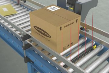 TTR sensor bar for quick installation in packaging applications