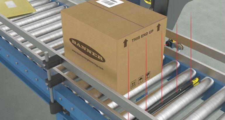 TTR sensor bar for quick installation in packaging applications