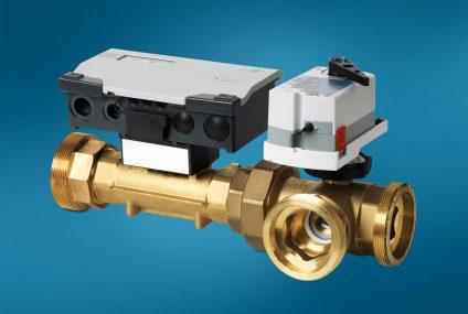 Intelligent Valve for HVAC plants: maximizes flexibility and efficiency
