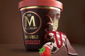 Recycled plastic for the ice cream packaging industry