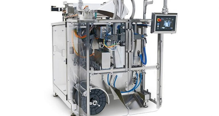 VTC 800-R continuous vertical wrapper for food sector