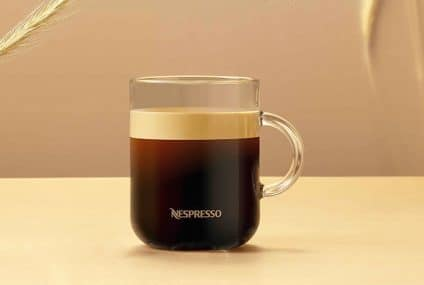 Carbon neutral by 2022 the cup of Nespresso coffee