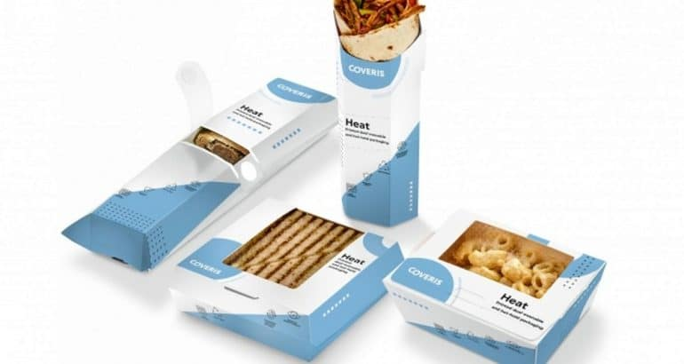 HEAT packaging designed with greaseproof patch incorporated