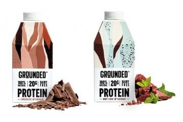 Innovative packaging: prototyping and testing for plant-based protein shakes