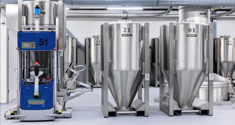 Plant for herbs and spices: fully automated processing