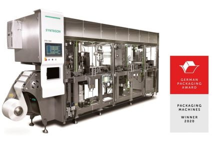 TPU1000 paper forming machine wins German Packaging Award 2020