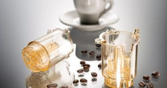 Food contact material for the italian coffee maker machine