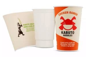 Recyclable noodles packaging