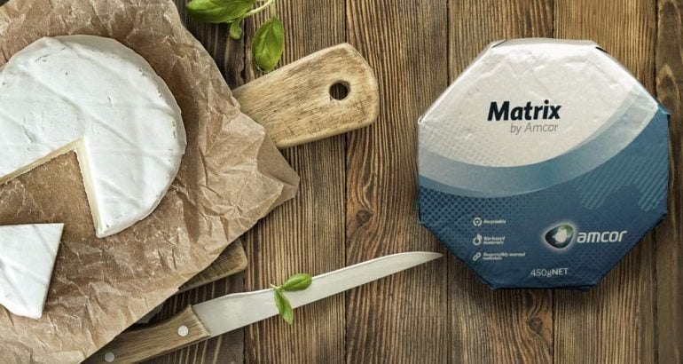 Recyclable packaging for soft cheese paraffin free awarded