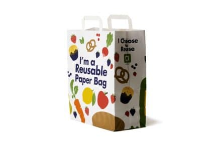 Reusable Paper Bag from plastic to paper: the secret to be stronger