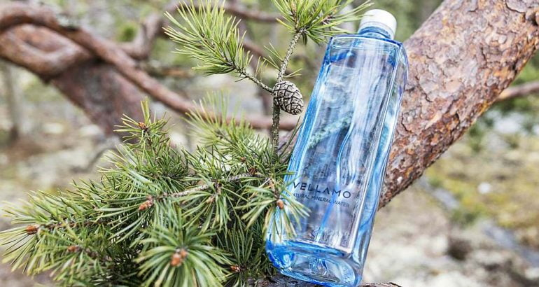 UPM Raflatac Forest Film PP label material for Finnish water