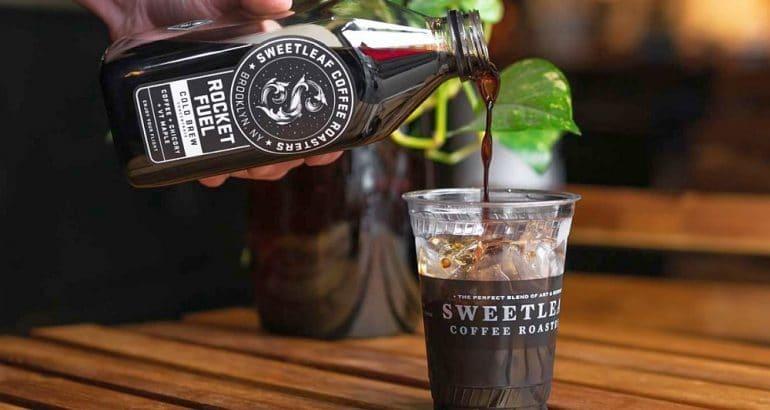 SmartCircle wash-off packaging material for Sweetleaf Coffee Roasters