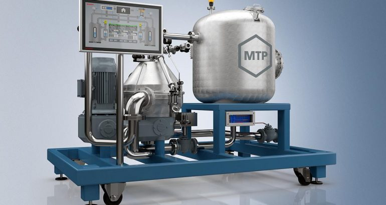 TwinCAT MTP module: the concept for modularity in process industry