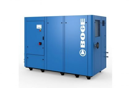BOGE S4 series for dry compressed air: efficiency, high performance, low noise