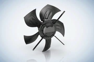 EC axial fans corrosion resistant and energy saving for livestock farming