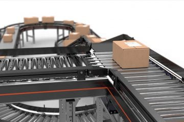 Integrated conveyor system: modular platform for easy installation