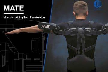 MATE Exoskeleton wearable for ROTPUNKT, German kitchen manufacturer