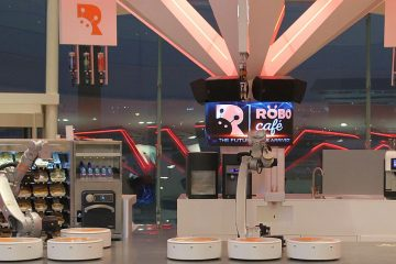 Robot cafè opens in Dubai. Enjoy your drink with KR CYBERTECH!