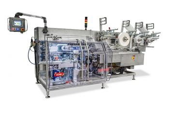 ACMA SW 200 flexible packaging machine for low speed soap bar production