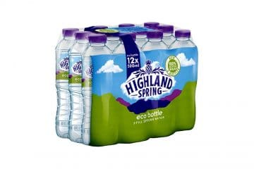 Recycled Duralite R Eco Pack for Highland Spring Group