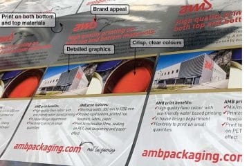 Water based printing technology for flexible and rigid food packaging