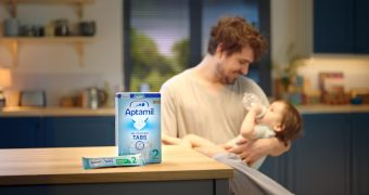 Formula milk: innovative pre measured tab format for UK market